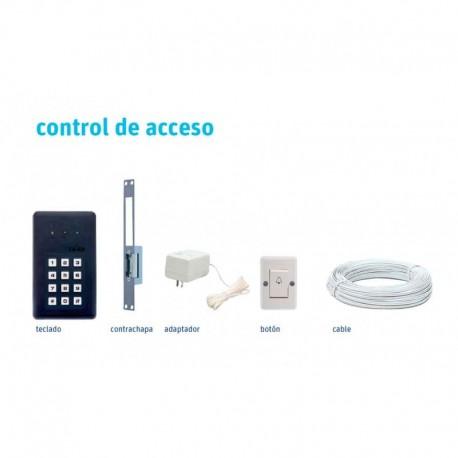 Kit de control de acceso con chapa eléctrica